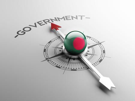 gov: Bangladesh High Resolution Government Concept