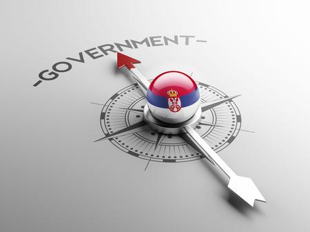 gov: Serbia High Resolution Government Concept Stock Photo