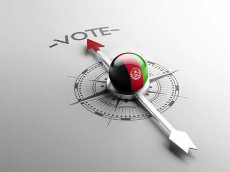 afghanistan': Afghanistan  High Resolution Vote Concept Stock Photo