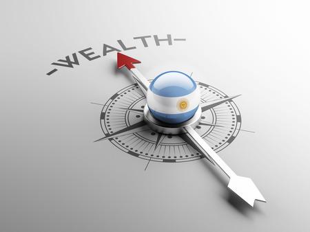 Argentina High Resolution Wealth Concept