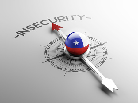 insecurity: Chile High Resolution Insecurity Concept