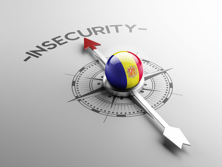 insecurity: Andorra High Resolution Insecurity Concept