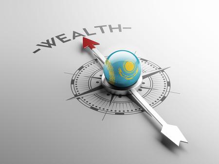Kazakhstan High Resolution Wealth Concept