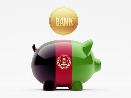 afghanistan': Afghanistan  High Resolution Banks Concept Stock Photo