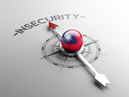 insecurity: Taiwan High Resolution Insecurity Concept