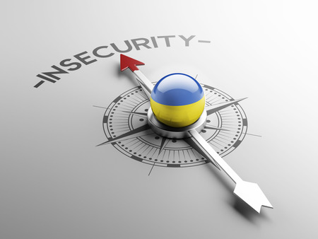 insecurity: Ukraine High Resolution Insecurity Concept