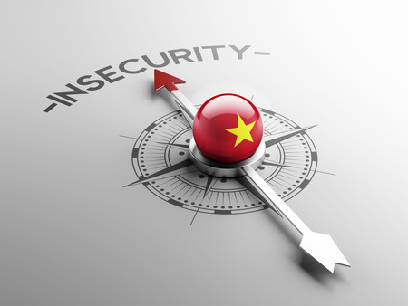insecurity: Vietnam High Resolution Insecurity Concept Stock Photo