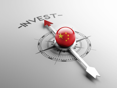 China High Resolution Invest Concept