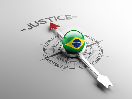 law of brazil: Brazil High Resolution Justice Concept Stock Photo