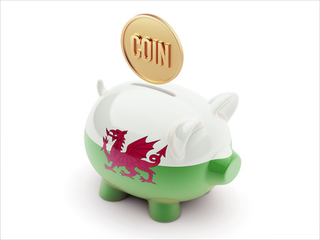 R�solution Coin Wales High Concept Haute D�finition Piggy Concept photo
