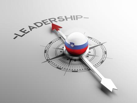 Slovenia High Resolution Leadership Concept photo