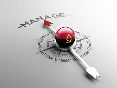 angola: Angola High Resolution Manage Concept
