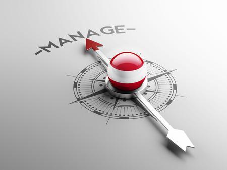 Austria High Resolution Manage Concept Stock Photo