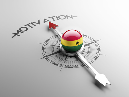 motivator: Ghana High Resolution Motivation Concept