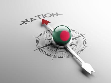 bangladesh 3d: Bangladesh High Resolution Nation Concept