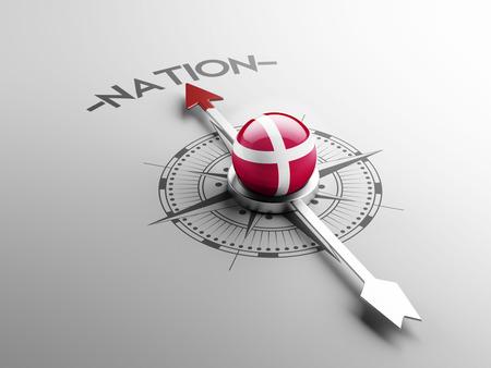 nation: Denmark High Resolution Nation Concept