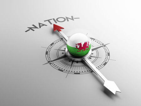 Wales High Resolution Nation Concept photo