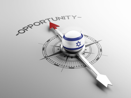 opportunity: Israel High Resolution Opportunity Concept Stock Photo