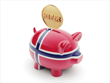 Norway High Resolution Holidays Concept High Resolution Piggy Concept