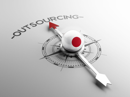 foreign country: Japan High Resolution Outsourcing Concept