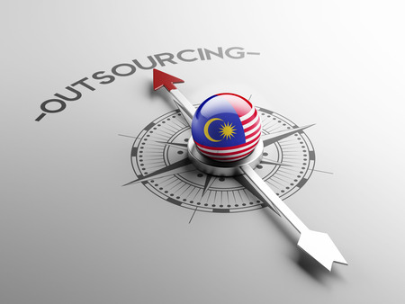 delegate: Malaysia High Resolution Outsourcing Concept Stock Photo