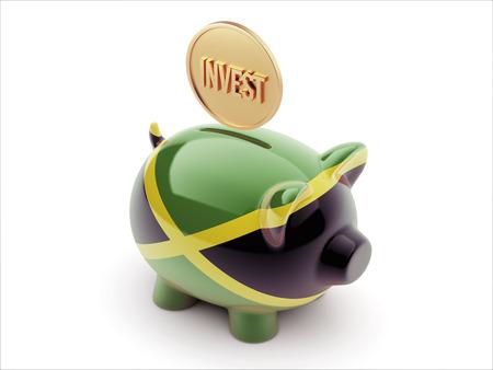 strategist: Jamaica High Resolution Invest Concept High Resolution Piggy Concept
