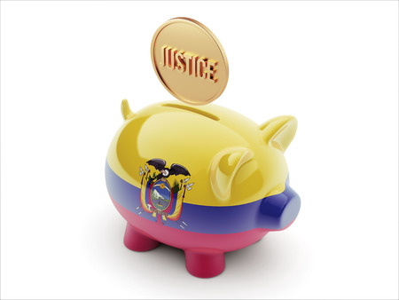 Ecuador High Resolution Piggy Concept photo