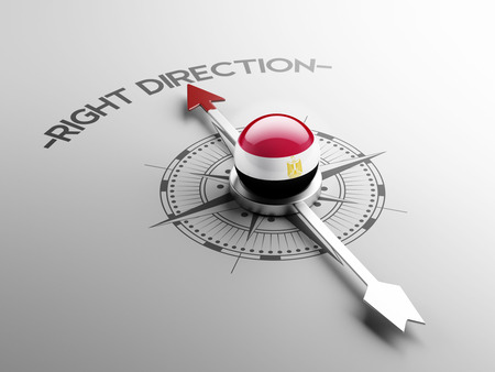 inspiring: Egypt High Resolution Right Direction Concept Stock Photo