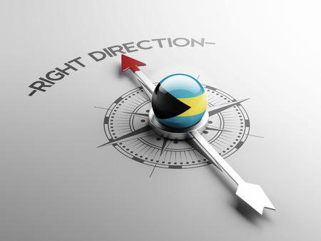 inspiring: Bahamas  High Resolution Right Direction Concept