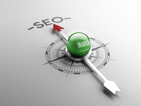 keywords advertise: Saudi Arabia High Resolution Seo Concept