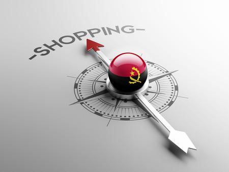 angola: Angola High Resolution Shopping Concept Stock Photo