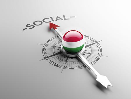 societal: Hungary High Resolution Social Concept