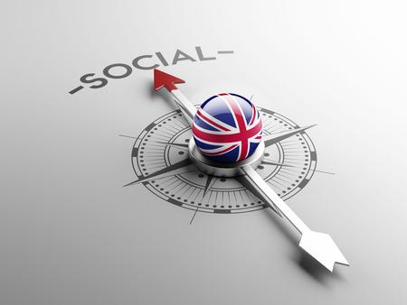 societal: United Kingdom High Resolution Social Concept