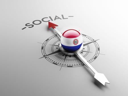 convivial: Paraguay High Resolution Social Concept Stock Photo