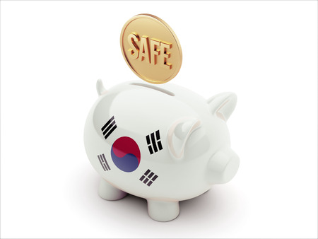 safely: South Korea High Resolution Piggy Concept