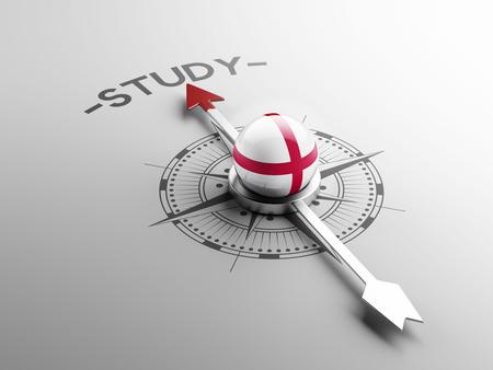 study concept: England High Resolution Study Concept Stock Photo