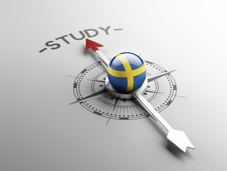 study concept: Sweden High Resolution Study Concept Stock Photo