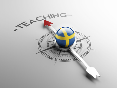 education in sweden: Sweden High Resolution Teach Concept Stock Photo