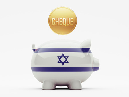 cheque: Israel High Resolution Cheque Concept