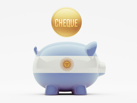 engravings: Argentina High Resolution Cheque Concept