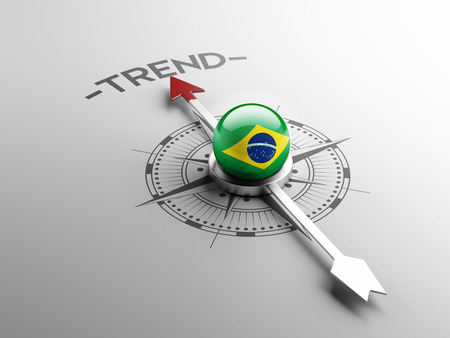 Brazil High Resolution Trend Concept Stock Photo