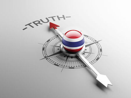 the truth: Thailand High Resolution Truth Concept