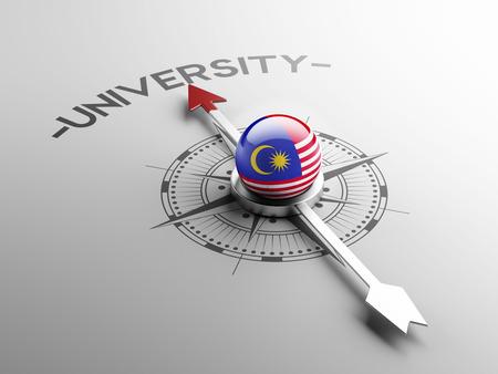 graduate asian: Malaysia High Resolution University Concept Stock Photo