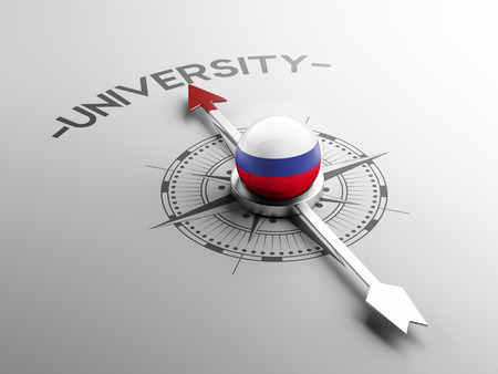 Russia High Resolution University Concept photo