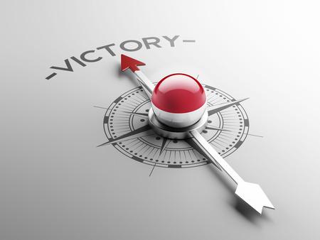 sumatra: Indonesia High Resolution Victory Concept Stock Photo