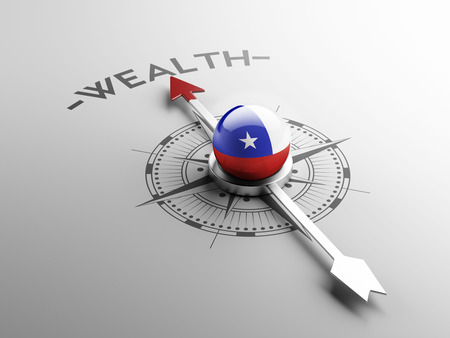 Chile High Resolution Wealth Concept