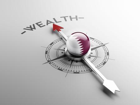 weal: Qatar High Resolution Wealth Concept