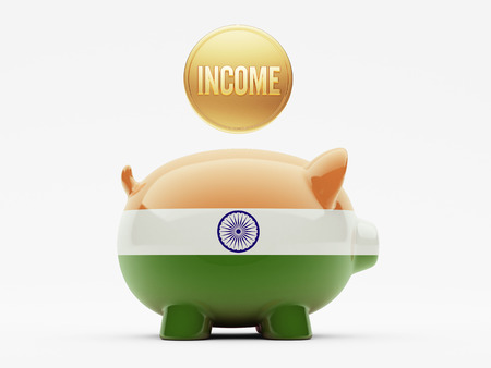 India High Resolution Income Concept photo