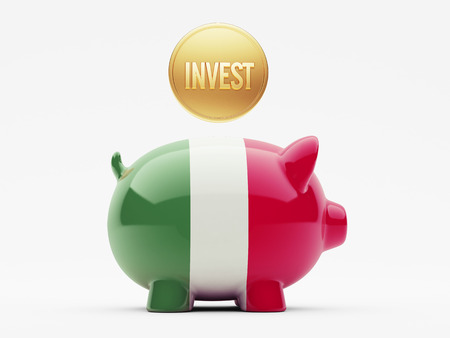 financial advisors: Italy High Resolution Invest Concept Stock Photo