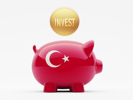 strategist: Turkey High Resolution Invest Concept Stock Photo